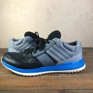 Adidas bounce blue gray sneakers Sz 11.5